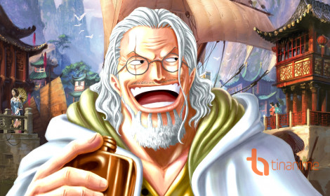 Ảnh đẹp One Piece (Phần 1) - Vua Bóng Tối Silvers Rayleigh