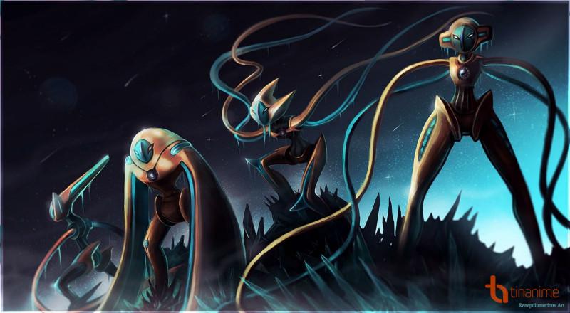 Deoxys có lẽ là một trong những Pokémon huyền thoại mạnh nhất khi nó có thể  biến đổi sức mạnh của mình tùy theo hình dạng. Bên cạnh dạng Thường, ...