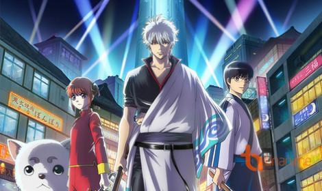 Anime Gintama (2017) ra mắt promo video mới toanh