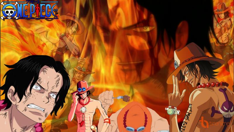 Ace xếp thứ 6 trong các nhân vật nổi tiếng nhất trong One Piece