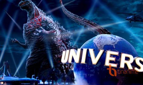 Đối đầu với quái vật Godzilla như thật với công nghệ 4D!