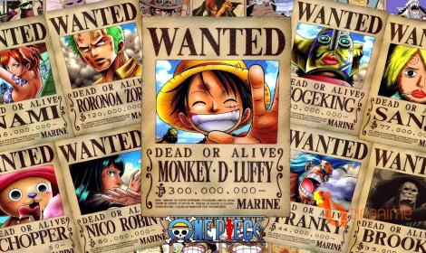 10 mức truy nã cao nhất trong One Piece hiện nay!