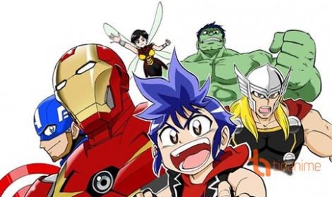 The Avengers ra mắt phiên bản Anime