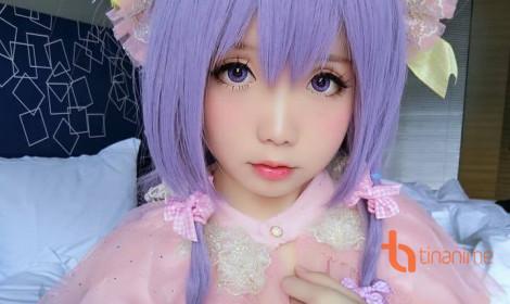 Cô nàng anime môi hồng, mắt long lanh!