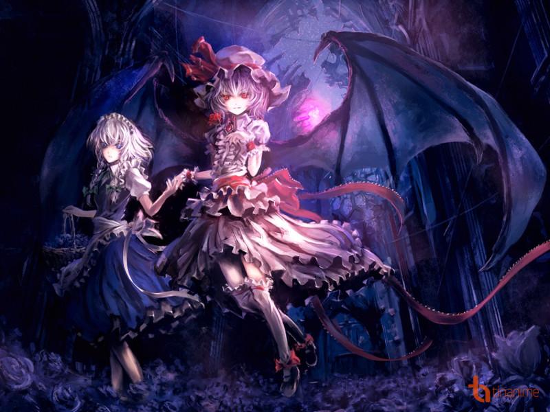 Xinh đẹp, quyến rũ, hay là đáng yêu, những nữ ác quỷ này đều sở hữu đủ cả!  Mời các bạn chiêm ngưỡng bộ tranh ác quỷ cực đẹp này nhé!