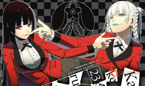 """Lộ diện dàn """"thần bài"""" trong anime Kakegurui"""