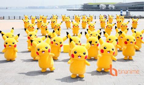 Pikachu: đổ bộ và tấn công Yokohama!!!
