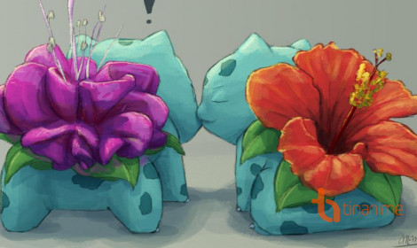 Khi Bulbasaur nở hoa