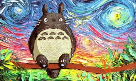 Hoạt hình phong cách tranh Van Gogh