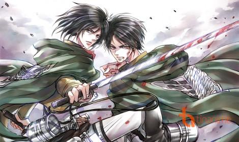 [Fanart] Eren - Mikasa: Chúng ta là sức mạnh của nhau