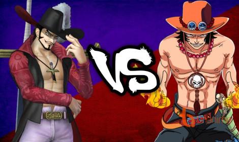 One Piece Stop Motion - Đánh bại Mắt Diều Hâu Mihawk!