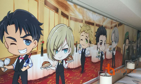 """Khách sạn Yuri!!! on ICE """"gây bão"""" tại Nhật Bản"""