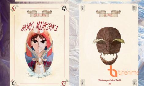 Bộ bài phong cách Ghibli vô cùng ấn tượng