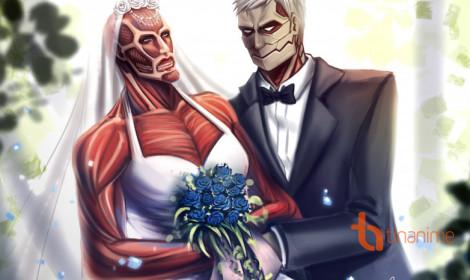 [Fanart] Đám cưới như mơ trong Attack on Titan!