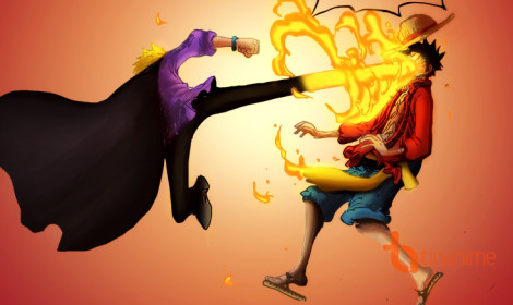 Sanji choảng Luffy trong One Piece tập đặc biệt!