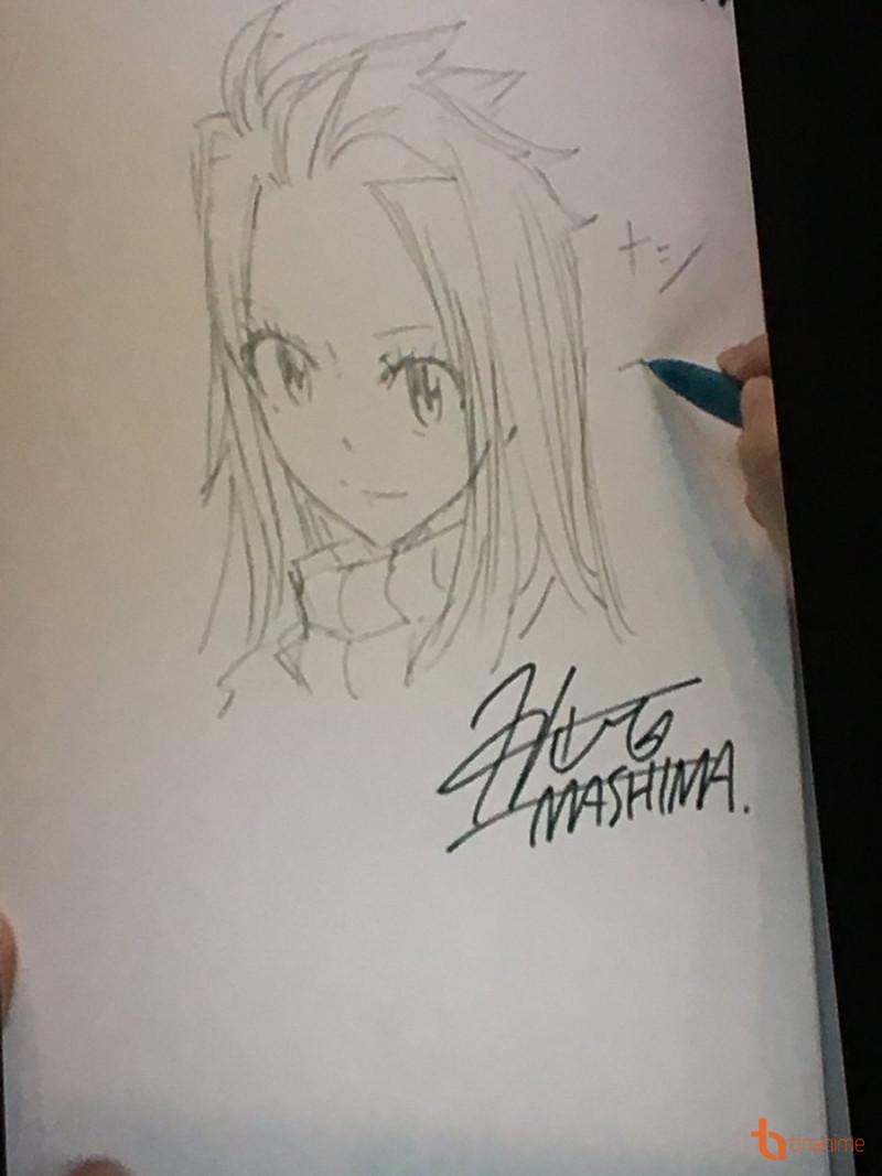Hoạ sĩ Mashima không nói nhiều về bức ảnh này nhưng có tiết lộ về năng lực của Nashi, chính là \