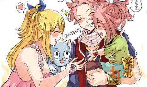 Tác giả Fairy Tail tiết lộ con của Gray + Juvia và Natsu + Lucy