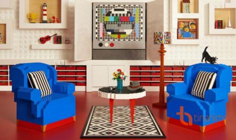 Hết hồn với căn phòng làm từ... LEGO?!