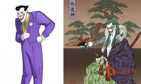 """Batman theo phong cách Nhật Bản cực """"ngầu"""""""