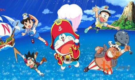 Movie Doraemon 2018 - Chuyến phiêu lưu hoành tráng trên đại dương