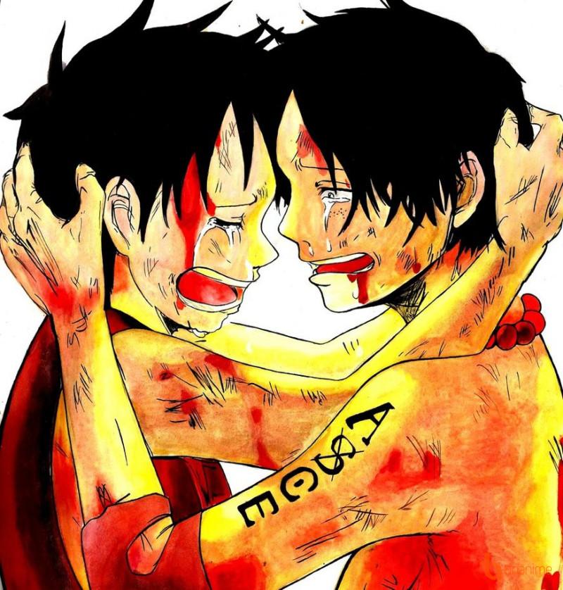 Khi nghe tin Sabo đã chết, Luffy đã khóc lóc cầu xin rằng Ace đừng chết, vì  lúc ấy, Luffy chỉ còn Ace là người anh trai duy nhất.