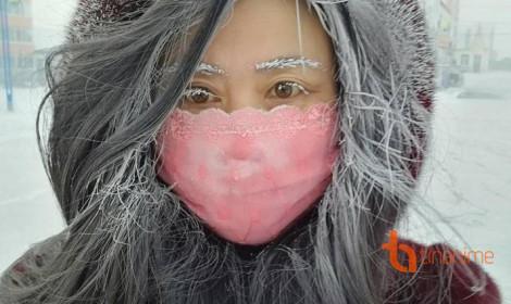 Tê tái với cái lạnh mùa Đông Nhật Bản!