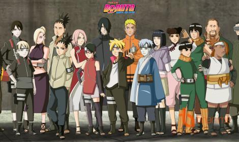 """Top 10 Anime truyền hình được nhiều người xem nhất 2017 - Boruto cuối cùng cũng """"vượt qua"""" được bố"""
