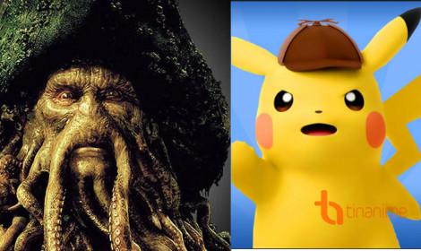 """Live-action Pikachu chiêu mộ diễn viên trong """"Cướp biển vùng Caribbean"""""""