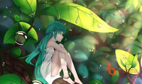 [Artwork] Nắng lên qua từng khe lá!