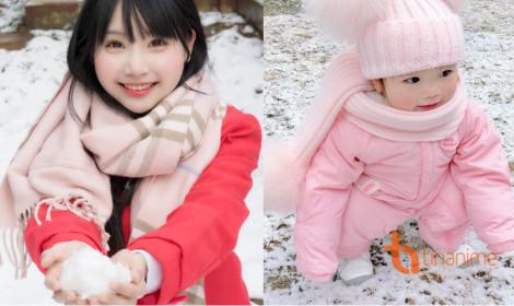 Gái một con Tiểu Nhu khoe thiên thần bé bỏng!