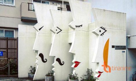 Tại Nhật Bản, nhà vệ sinh công cộng cũng là một nghệ thuật