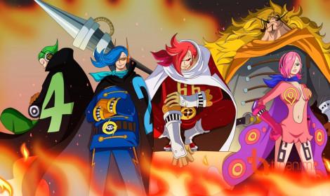 [Spoiler] One Piece chương 897 - Germa 66 tung hoành đảo Cacao!