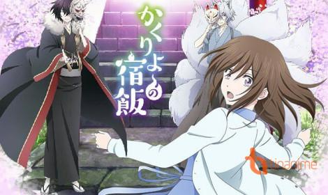 Anime Kakuriyo no Yadomeshi hé lộ thời gian ra mắt cùng dàn diễn viên mới!