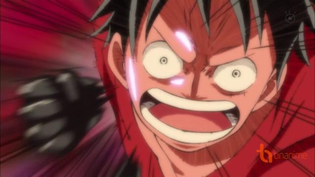 Luffy Vs Caesar - Gomu Gomu No Jet Gatling và Haki!