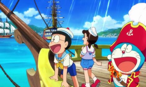 Movie Cuộc phiêu lưu đến Đảo Giấu Vàng xác lập kỷ lục mới trong lịch sử movie Doraemon!
