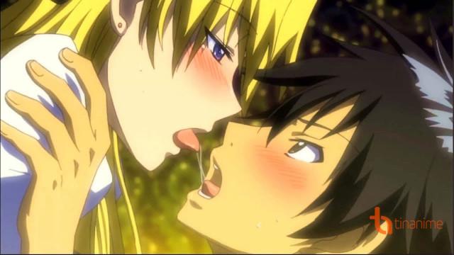 """Top 10 cảnh hôn """"kích thích"""" trong anime (phần 2)"""