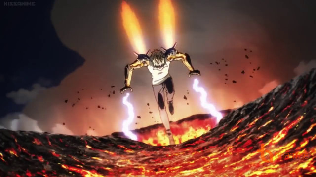 Saitama vs Genos