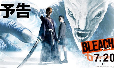 Live-Action Bleach tung trailer nóng hổi