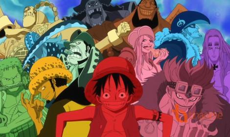 Top 5 mức truy nã của các băng nhóm, tổ chức trong One Piece!