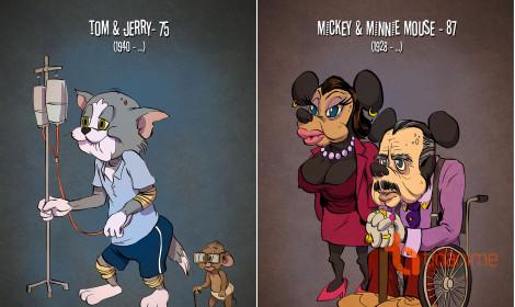 Khi các nhân vật hoạt hình sống thật với tuổi