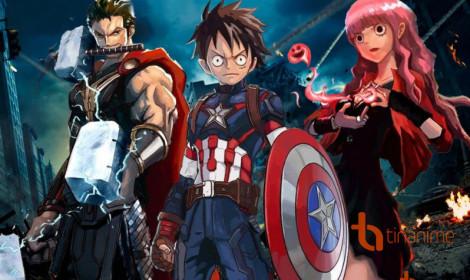 Nếu thế giới anime là Avangers, các siêu anh hùng của chúng ta sẽ cực cực ngầu!