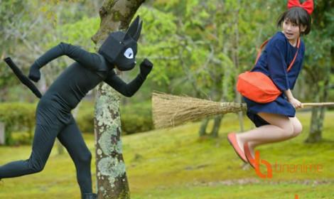Cười lộn ruột với chú mèo Jiji trong Cô Phù Thủy Nhỏ Kiki-Kiki!