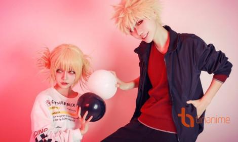 Himiko và Katsuki - Trong anime không phải một cặp, nhưng ngoài đời thì có thể!