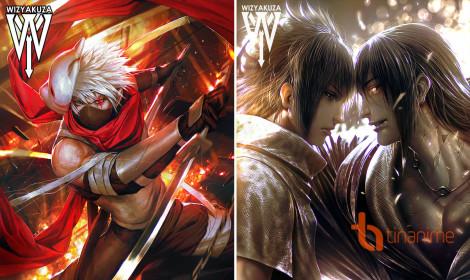 Bộ fanart Naruto kĩ thuật số cực đẹp