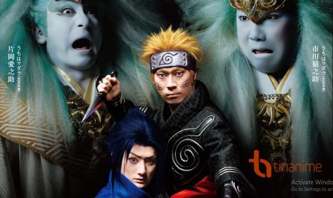 Naruto phiên bản kabuki công bố dàn diễn viên bá đạo!