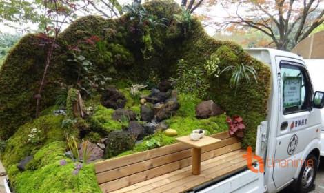 Thú vui mới của người Nhật - Làm vườn trên... xe tải