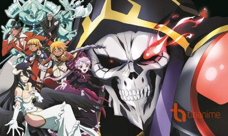 Danh sách Anime Mùa Hè 2018 (Phần 2) - Overlord III xuất quân!!