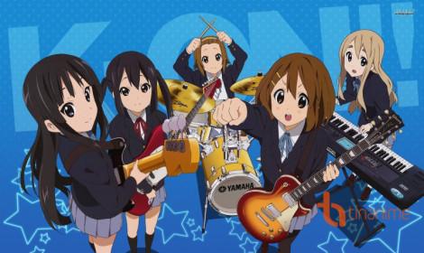 Manga K-On! trở lại sau 6 năm vắng bóng