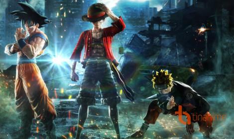 Naruto, Luffy, Goku đại chiến võ đài Jump Force!