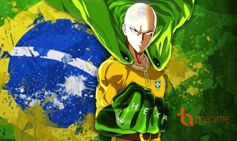 """Fan anime Brazil """"nhuộm màu"""" cho nhân vật anime chào mừng World Cup"""